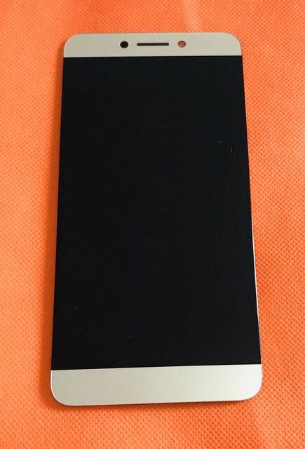 Usado original display lcd + digitador da tela de toque para leeco letv le s3 x626 helio x20 mtk6797 deca núcleo frete grátis