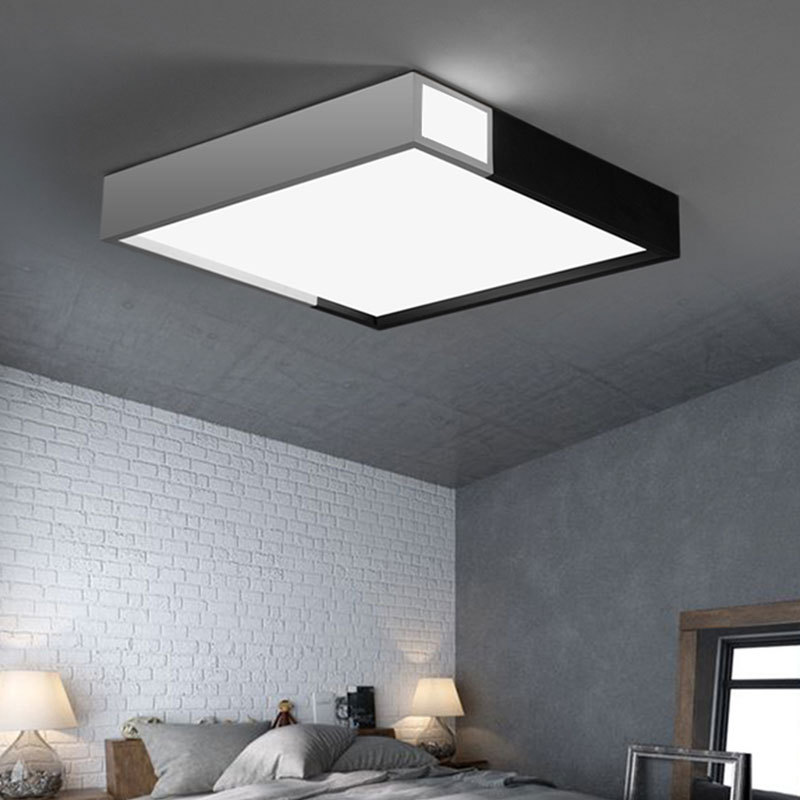 Minimalist Black And White Modern Bathroom Ceiling Lights