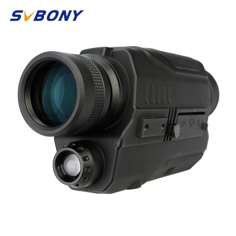 SVBONY 5x32 Monocular Night Vision Digital 0 3 Mega Pixels CMOS 1 5 LCD Display Infrared