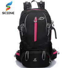 Waterproof Nylon Outdoor Sports Backpack Unisex Mountaineering Climbing Trekking Camping Hiking Bags 40L DS02