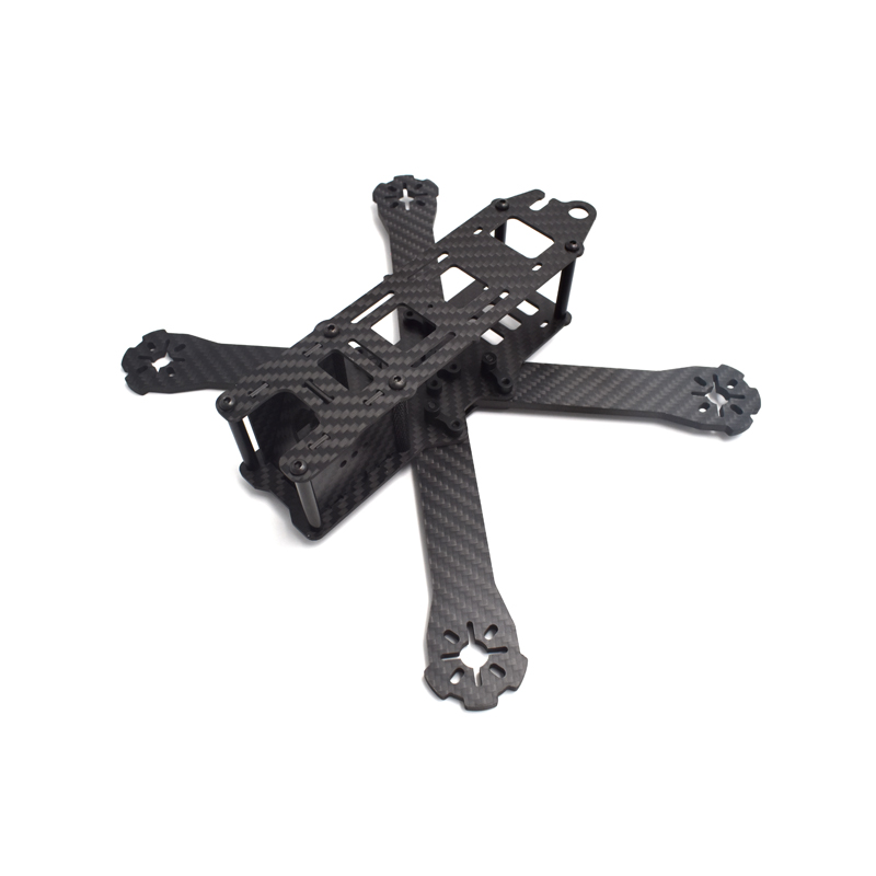 QAV-R 220mm DIY Mini Drone FPV Pure Carbon Fiber Quadcopter 4mm Arm QAV-R 220 Cross Racing Quadcopter Frame carbon fiber diy mini drone 220mm quadcopter frame for qav r 220 f3 flight controller lhi dx2205 2300kv motor