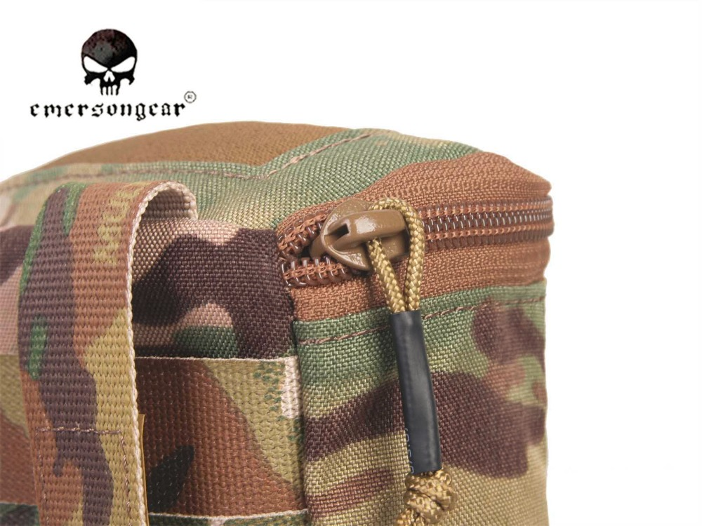 Image 5 - Emersongear Скрытая Перчаточная сумка/500D Мультикам Молл битва  поле медик EMT сумка EM9336medical mollemolle medicalpouch pouch -