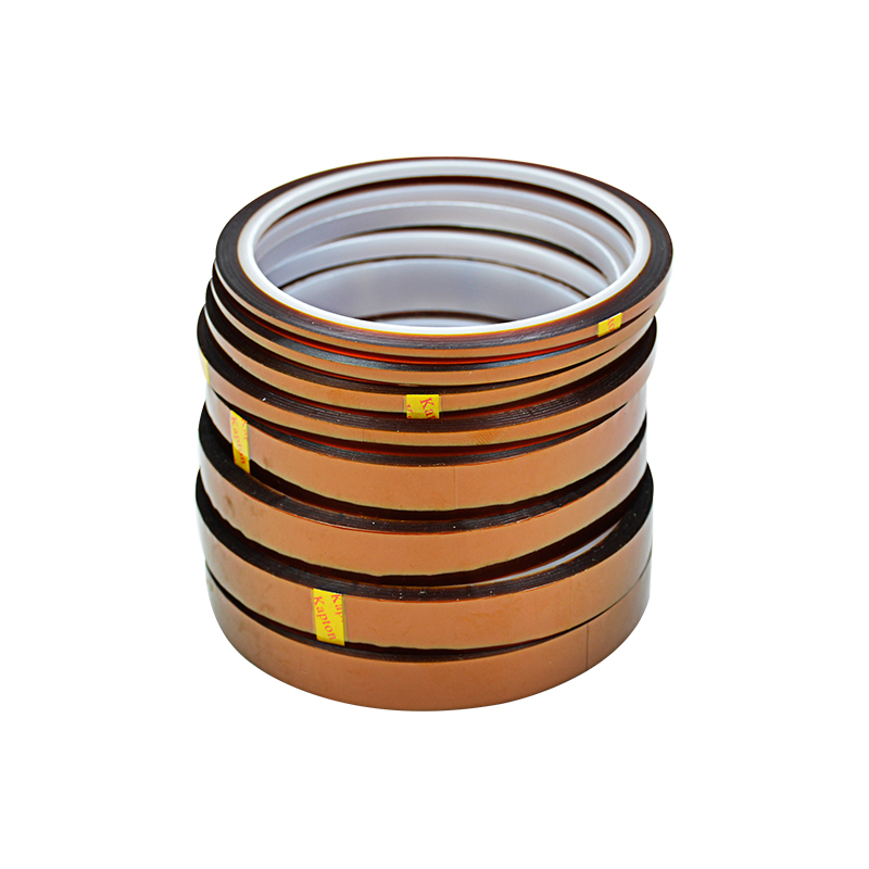 1pc 30m Polyimide Adhesive Tape Silicone Tape High Temperature Adhesiver Polyimide Film 3-20mm цены онлайн
