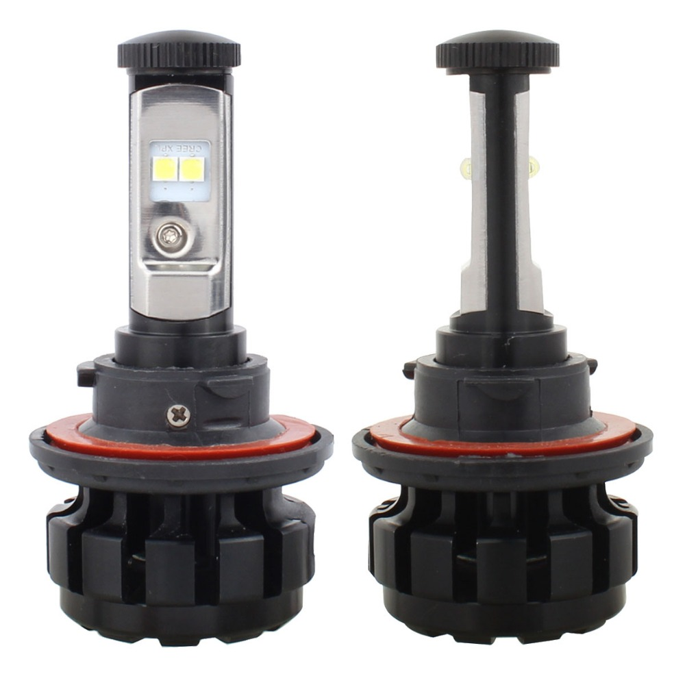 80W/Set H13 Car Conversion Kit LED Bulb Hi/Low Beam Headlight 9008 LED Headlamps 3000/4300/6000/8000K with CREE Chip XPL 12V 24V