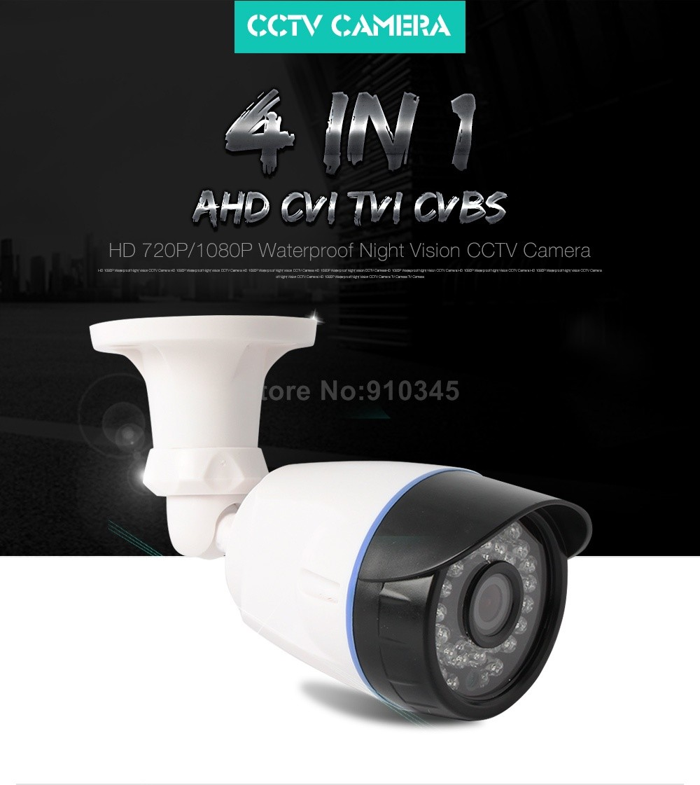 01 4 In 1 CCTV Camera