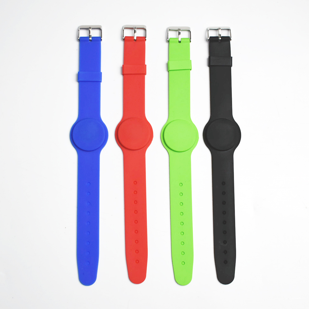 50pcs 125Khz RFID EM4100 Waterproof Proximity Smart Card wristband bracelet ID card for access control