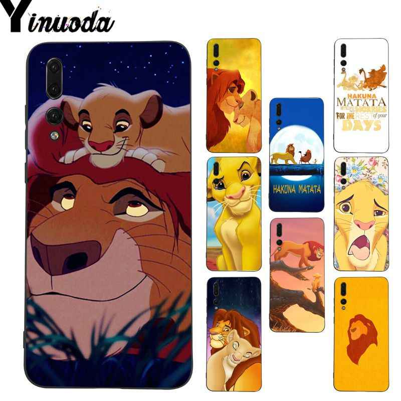 Yinuoda The Lion King DIY Painted Coque Phone Case for Huawei P20 Lite P10 Plus Mate9 10 Mate10 Lite P20 Pro Honor10 View10