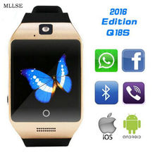 2016 Updated Original Q18S Smartwatch Multifonction Bluetooth Smart Watches Man Watch For All Android Phones PK U8 DZ09 GT08
