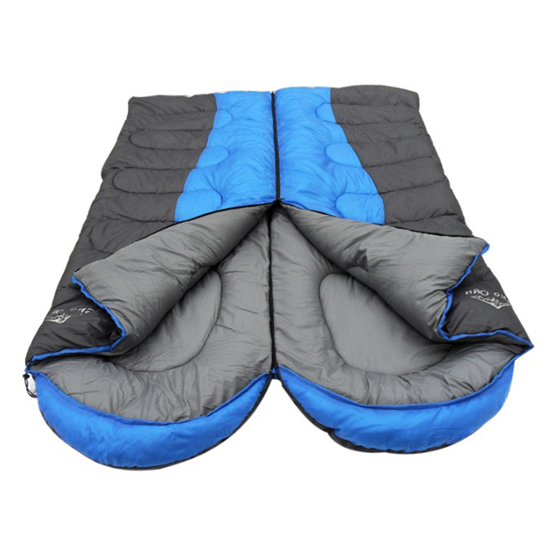 Sleeping Bags New Style 1pc Sleeping Bag Camping Sports Family Bed Outdoor Hunting Hiking Camp Sleeping Gear