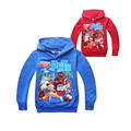 cute causal kids hoodie coat cartoon The Secret Life of Pet soft cotton sweatshirt for 4-12yrs children boys girls tops clothes