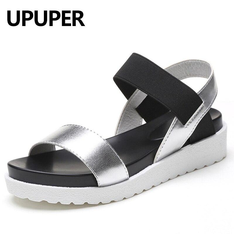 2018 NEW Summer Women Sandals Peep-toe Wedges Shoes Gladiator Women Shoes Roman Sandals Shoes Woman Sandalias Mujer Sandalias