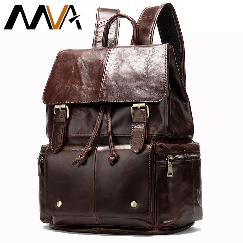 MVA Mens Backpack Travel Bag Organizer Duffle laptop Large Capacity Leather Big Backpack Casual Anti Theft Weekend Bag 8507MVA Mens Backpack Travel Bag Organizer Duffle laptop Large Capacity Leather Big Backpack Casual Anti Theft Weekend Bag 8507