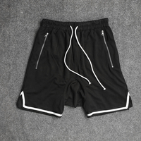 2018 Summer Men Shorts Net Breathable Fear Of God Justin Bieber Streetwear Hip Hop Fashion Loose
