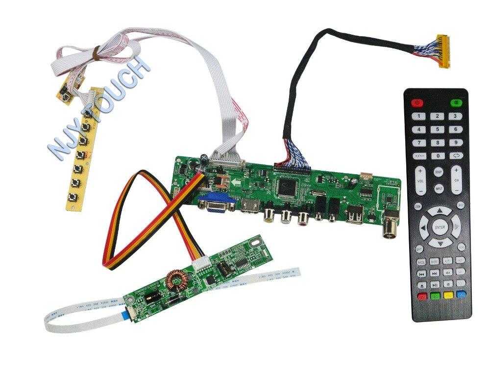 LA.MV56U.A  for 23inch 1920x1080 LM230WF5-TLD1 New Universal HDMI USB AV VGA ATV PC LCD Controller Board LED LVDS Monitor Kit new 23 inches lm230wf5 tld1 1920 x1080 lm230wf5 tld1 lm230wf5tld1 tld2