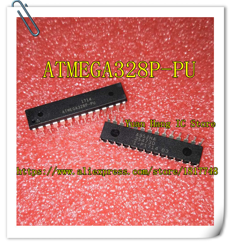 Free shippin 10pcs/lot ATMEGA328P-PU ATMEGA328P DIP-28 original authentic
