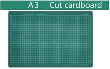 High quality A3 PVC 45*30cm cutting mat carving design model self healing  medium scale plate rotary cutter blade cardboard DIY