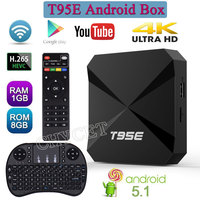 Chycet 2017 New T95E TV Box RK3229 Quad Core Cortex A7 1GB 8GB Android 5 1