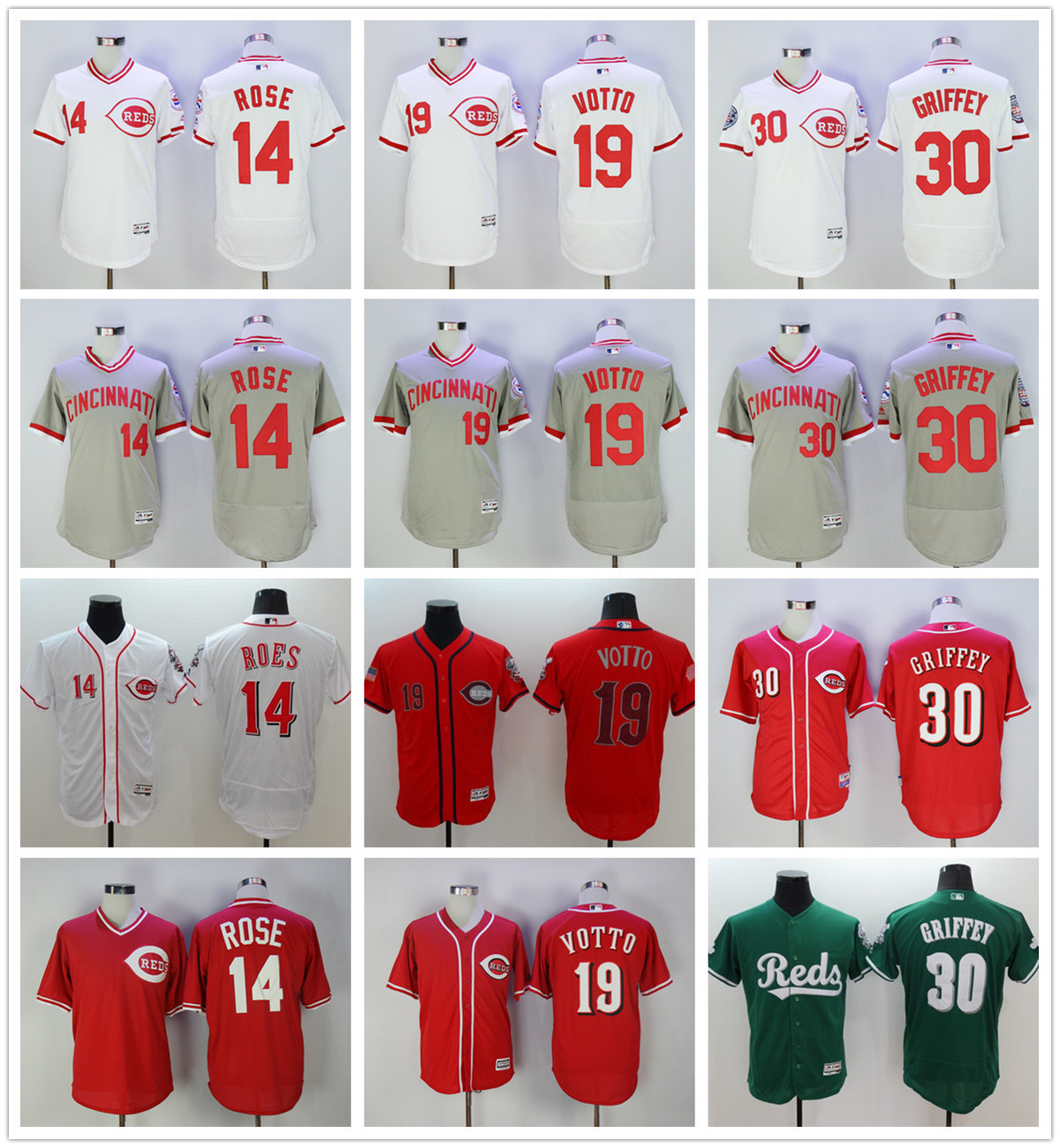 744f0ae80 Buy cincinnati reds jersey votto and get free shipping on AliExpress.com