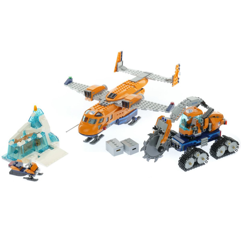 City Series Arctic Explore Arctic Supply Plane Model Building Block 791Pcs Bricks Toys Compatible With Legoings City 60196 lepin 02112 new city series the arctic supply plane set 60196 building blocks bricks legoinglys toys model boy christmas gifts