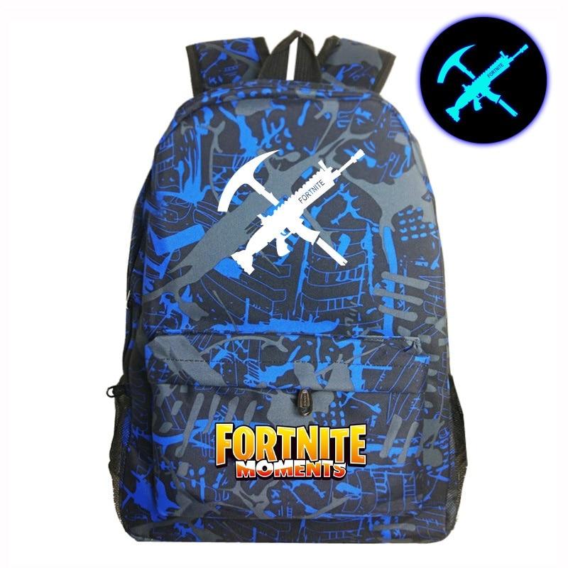 Juego luminoso cielo estrellado mochilas adolescentes como la impresión bolsa de escuela Unisex mochila de gran capacidad al por mayor