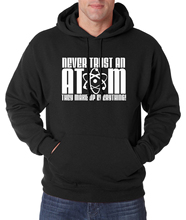 Chemical Science For Adult Never Trust An Atom They Make Up Everything hoodie men 2016 autumn winter new fleece men sweatshirts