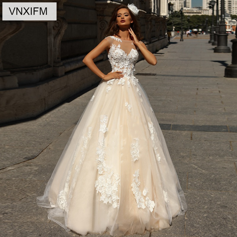 Us 236 0 Vnxifm 2019 Vintage Wedding Dresses Princess Wedding Dress Lace Applique Turkey Country Western Bridal Gowns Tulle Dresses In Wedding