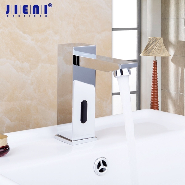 Superbe Touch Free Infrared Basin Tap Automatic Sensor Faucet Bathroom Basin Sink  Faucet Hot U0026 Cold