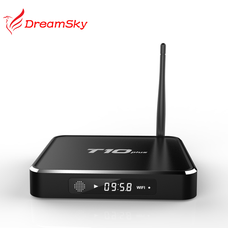 ФОТО Amlogic S905  T10 Plus Android 5.1 TV Box 2G/8G  Bluetooth 4.0 Dual channel WIFI 2.4GHz/5.0GH Smart TV Receiver