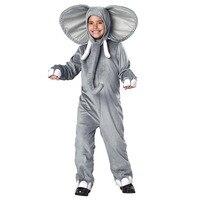New Arrival Baby Elephant Costume Kids Animal Onesies Elephant Cosplay Costume Fancy Dress Animal Costume Jumpsuit