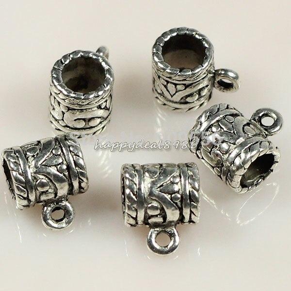 20491c35c90f Al por mayor 50 unids lote tibetano tono plata taza conectores fianzas  joyería resultados para la joyería diy