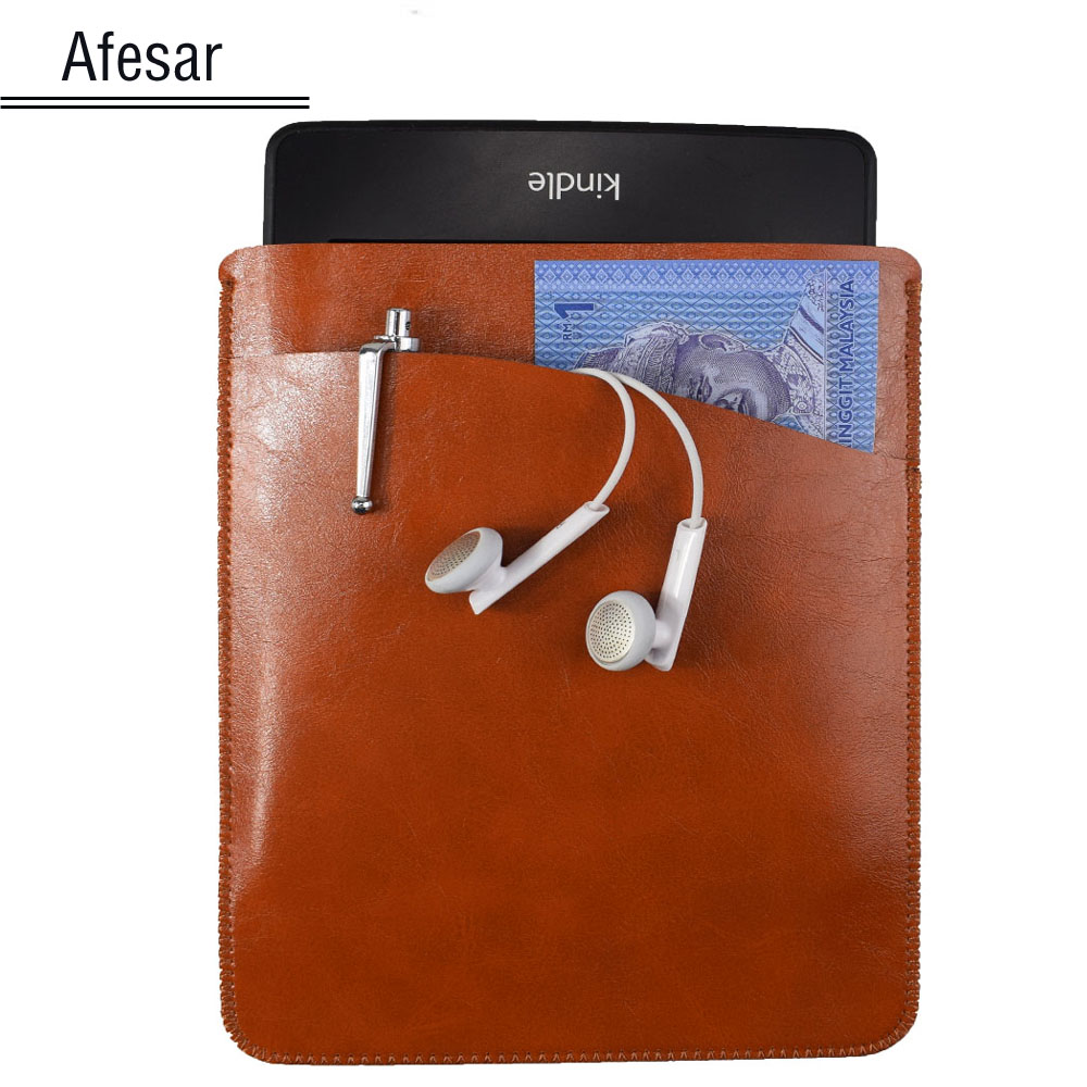 Hot Sale Luxury Universal Ebook Ereader Leather Cover Case Pouch For Kindle  Paperwhite Oasis Voyage 4th
