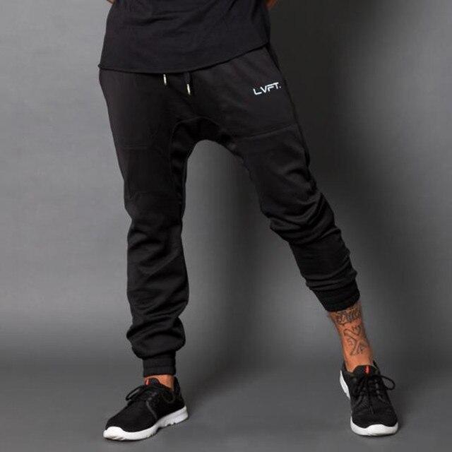 2016 новая мода Осень зима мужчины брюки марка одежды мужчины случайные штаны брюки мешковатые Флис теплые брюки мужчины