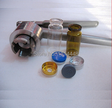 Manual 13mm Stainless Steel Aluminum Plastic Lid Crimper Flip Off Caps Hand Sealing Machine Tool Pliers
