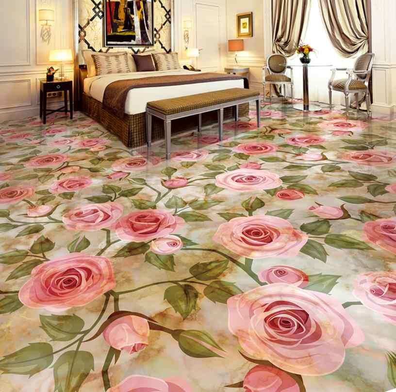 3d フローリング壁紙ロールサイズ大理石 paiting リビングルームキッチン浴室自己接着壁紙子供