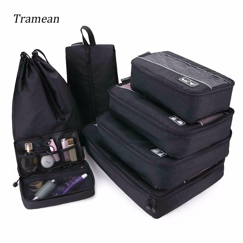 Travel Luggage Bag Organizer Packing Cubes Set Breathable Me