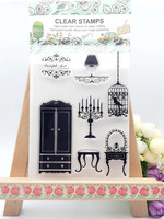 beauty nature trees Transparent Clear Stamp DIY Silicone Seals Scrapbooking Card Photo Album Decor for wedding gift