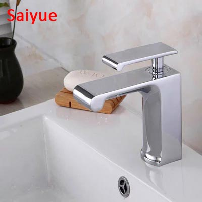 Wholesale And Retail Unique shape Modern Waterfall Spout Basin Faucet Single Handle Mixer Tap Deck Mounted kraan robinet grifoWholesale And Retail Unique shape Modern Waterfall Spout Basin Faucet Single Handle Mixer Tap Deck Mounted kraan robinet grifo