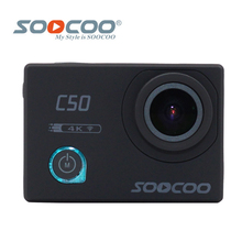 Оригинал SOOCOO C50 Wifi 4 К Гироскопа Камера Action Sports Регулируемые углы Обзора NTK96660 30 М Водонепроницаемый Спорт DV