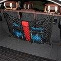 2016 Hot-Alta qualityCar Veículo organizador Tronco net Corda de Nylon Saco De Armazenamento Organizador Container Preto Universal-car styling