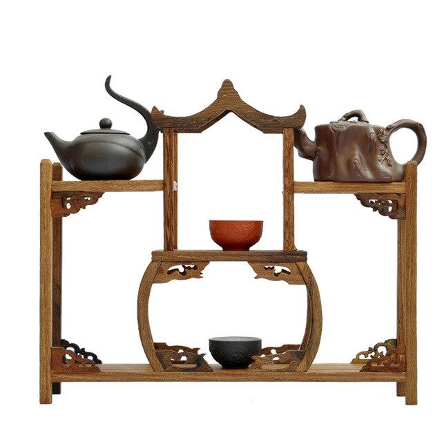 Ming y Qing muebles de caoba alas antigüedades de madera pabellón ...