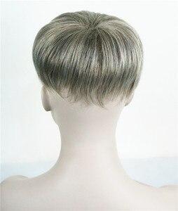 Image 5 - יופי חזקות נשירת שיער פיאות שיער סינטטי פאת פאה פאות למעלה חתיכה 36 צבעים לבחירה