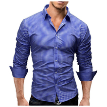 NAGRI 2018 Flannel Folk-custom Shirts for Men Vintage Woolen Pattern Dress Casual