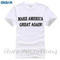 2017 New Arrival Men T Shirt New Make America Great Again Donald Trump T Shirt Brand