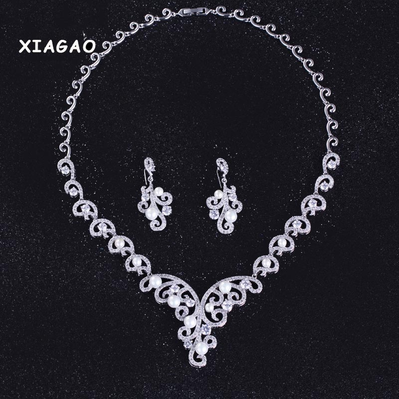 XIAGAO 4 Colors 2016 Ethic ButterflyJewelry Sets Luxury Vintage Earrings & Necklace Wedding Jewelry Parure Bijoux Femme рулевая ethic headset silicone black