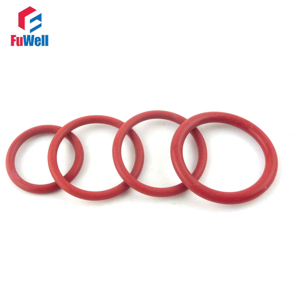 20pcs Red Silicon Rubber O Ring Seals 4mm Thickness 60/62/65/68/70/72/75/80/82/85mm OD O-ring Gaskets Washers o ring for eheim 2213 and 2013 canister filters red