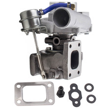 GT25 GT28 T25 T28 GT2871 GT2860 for SR20 CA18DET Upgrade Turbo Turbocharger Turbine A/R 0.6 Turbine A/R 0.64 Wet Float