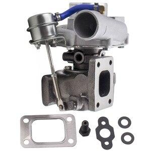 Image 1 - Gt25 gt28 t25 t28 gt2871 gt2860 para sr20 ca18det atualizar turbo turbocompressor turbina a/r 0.6 turbina a/r 0.64 flutuador molhado