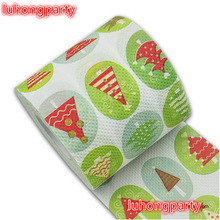 Free Shipping 3 Pcs Christmas tree Printing Toilet Paper Tissues Roll Novelty Tissue Wholesale