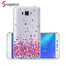 Transparent Silicone Phone Cases For Asus Zenfone 3 Laser ZC551KL Case Covers For Zenfone3 Laser ZC551KL Protective Cover 5.5'' защитное стекло partner для asus zenfone3 laser zc551kl 9h