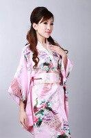 Шанхай история японской традиционном стиле платье женские синий благородный искусственного шелка Винтаж кимоно юката кафтан для Для женщи...
